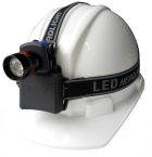 3瓦 高亮度4段式LED 頭燈 頭戴、夾冒兩用 NEW-389