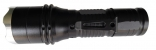 10瓦 一般/充電兩用 6段式 T6 LED手電筒 可改變光圈大小 NEW-T612黃光