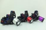10瓦 一般/充電 兩用型 4段式 T6 LED頭燈 伸縮調焦 NEW-T685