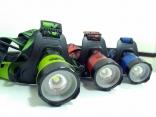10瓦 充電4段式 T6 LED 頭燈 記憶功能 伸縮調焦 NEW-T886